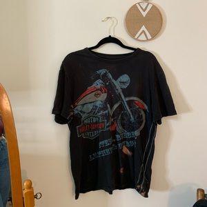 Harley Davidson vintage oversized shirt